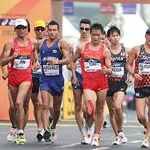 Men 20km: A phase of the race