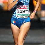 Women 50km: Mariavittoria Becchetti during the race