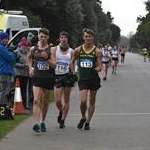 Men - Leading pack with David Kenny and Wayne Snyman