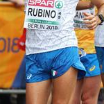 Men 20km: Giorgio Rubino during the race