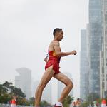 Men - 20km - Wang Zhen on his way to the victory (by Getty Images)