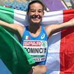 Women - Eleonora Dominici celebrates 5th place
