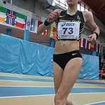 Women 3.000 indoor: Antonella Palmisano during the race