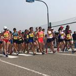 Asian 20km Race Walking Championships 2017: Women - Start