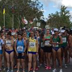 Women - 20 km  - Athletes at the start