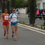 Women - 20 km - Giorgi and Liu leading