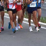 Men - 20 km - Leading group at 11 km