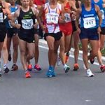 Men - 20 km - Leading group at 10 km