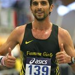 5.000m men: Marco De Luca happy after the race