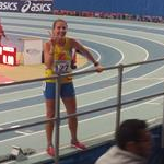 3.000m women: Federica Curiazzi happy immediately after the race before her DQ