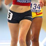3.000m women: Mariavittoria Becchetti during the race