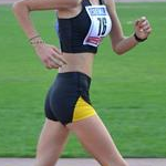 5.000m U18 Girls - Anthea Mirabello during the race (photo by Filippo Calore - Italy)