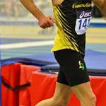 5.000m Men - Vito Di Bari during the race