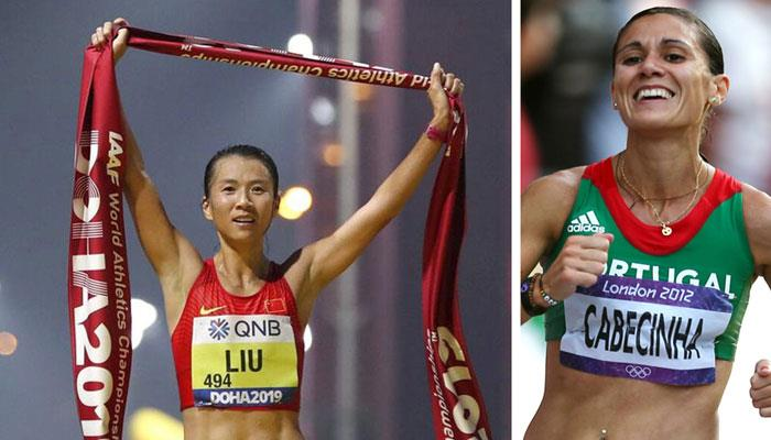 Liu Hong the most consistent female athlete of the last 20 years, Ana Cabecinha the one always at the highest levels