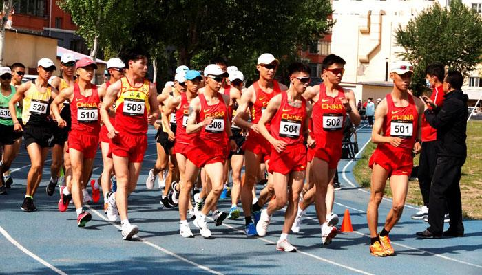 In China athletes return to compete