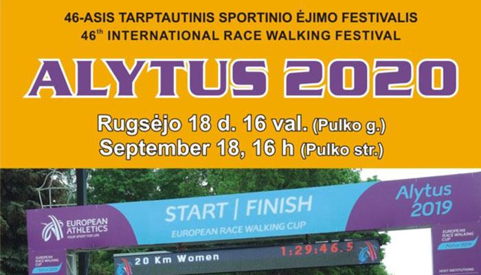 Alytus (LTU): 46th International Race Walking Festival