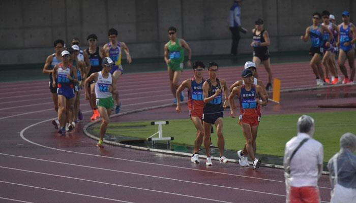 Kumagaya (JPN): Rain (also of personal best) at the All Japan Inter-Corporate Track & Field Championships